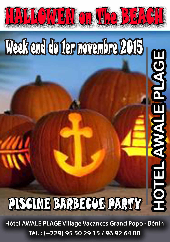 L'hôtel Awalé Plage (Grand Popo - Bénin) - Halloween