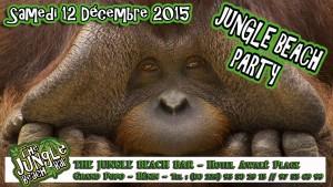 Logo jungle beach party singe