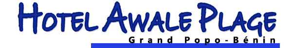 L'hôtel Awalé Plage (Grand Popo - Bénin) - Logo