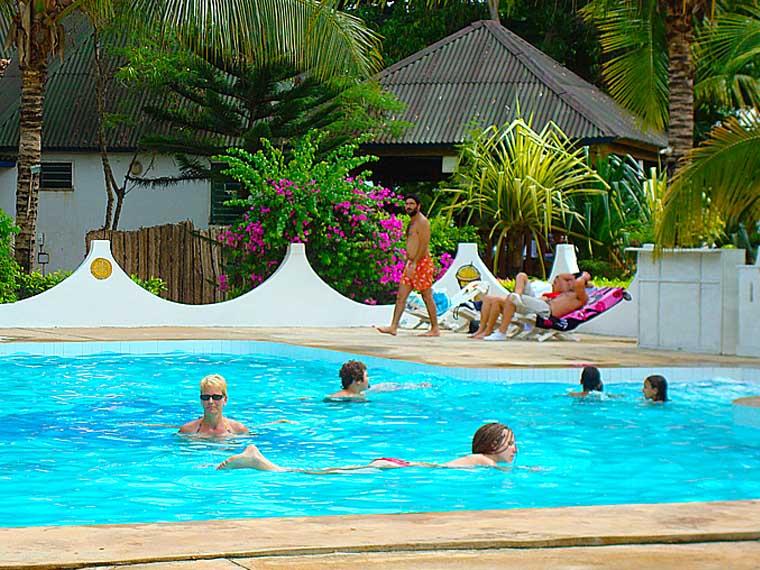 L'hôtel Awalé Plage (Grand Popo - Bénin) - Piscine