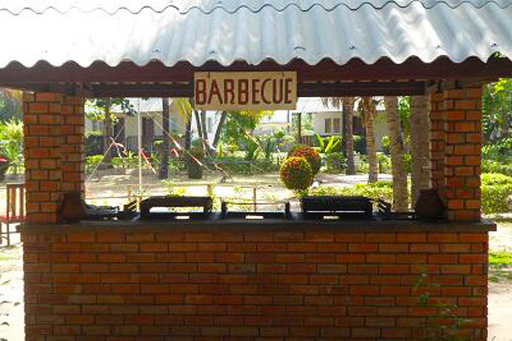 L'hôtel Awalé Plage (Grand Popo - Bénin) - Restaurant