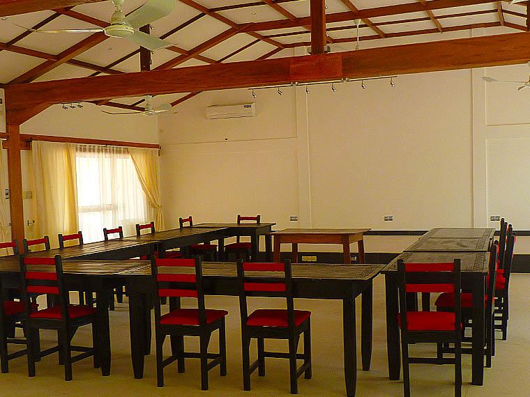 L'hôtel Awalé Plage (Grand Popo - Bénin) - Salle de Conférence