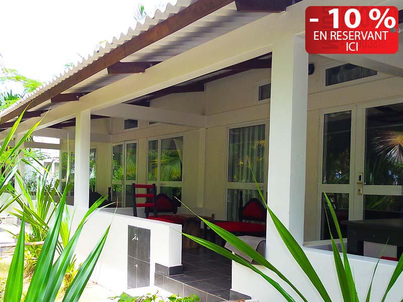L'hôtel Awalé Plage (Grand Popo - Bénin) - Chambres VIP Piscine et Plage single ou double ou famille